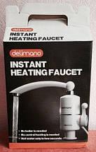 Электрически нагреватель DELIMANO, проточный нагреватель для воды (боковое подключение), фото 3