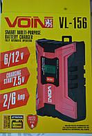 Зарядний пристрої під VOIN VL-156 6-12V / 2.0-6.0A / 3-150AHR / LCD / Импульсное (VL-156), фото 1