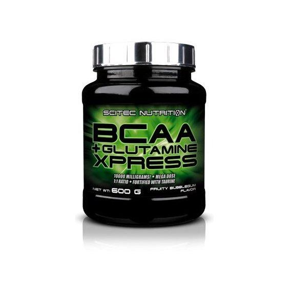 Аминокислоты bcaa Scitec Nutrition BCAA + Glutamine Xpress 600 g
