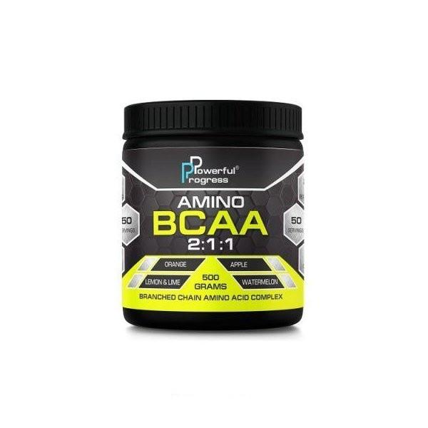 Аминокислоты bcaa Powerful Progress BCAA 2:1:1 500 g