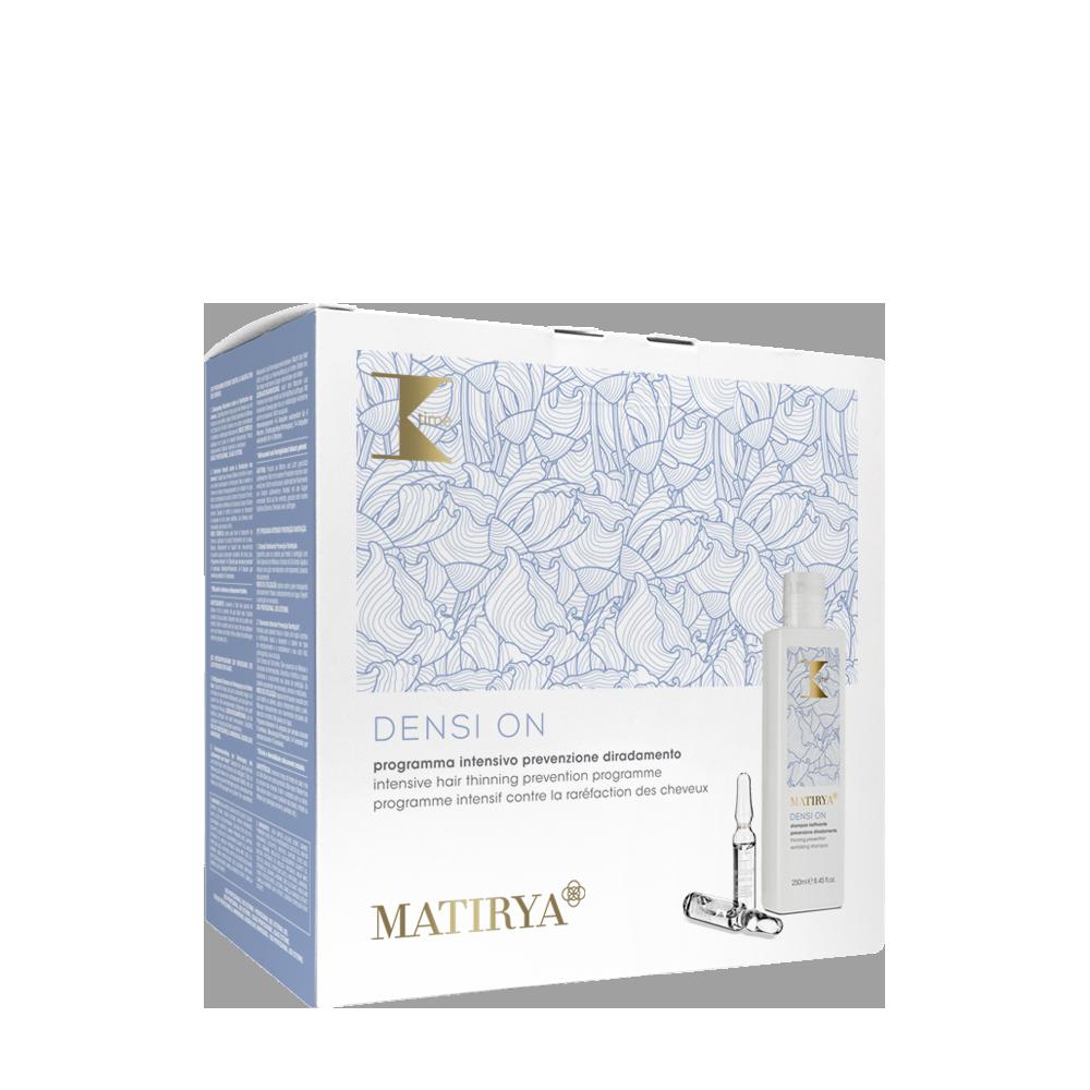 K-time Matirya Densi On Kit программа противодействия выпадению волос шампугь 250мл + амплы 12х8мл