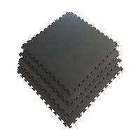Защитный коврик для кардиотренажера (1 секция) 100*100*1 см для дома и спортзала