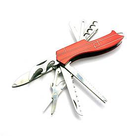 Ніж складний з набором інструментів (10 в 1)(9,5 см)