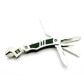 Ніж-розвідний ключ з набором інструментів (17,5х4х2,5 см)(5 в 1)
