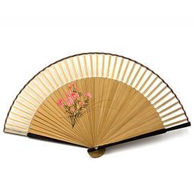 Веер бамбук с шелком (21 см)D