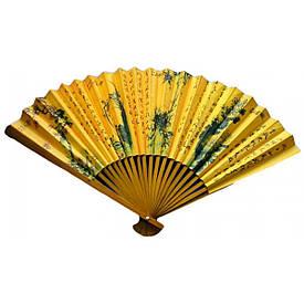"Веер бамбук+бумага (33 см)(10"")(5 шт/уп)"