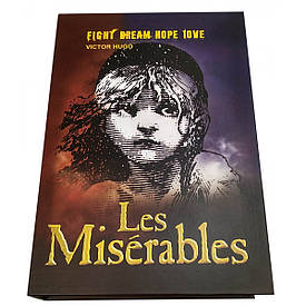 "Книга - сейф ""Les Miserables"" (22х15х5,5 см)"