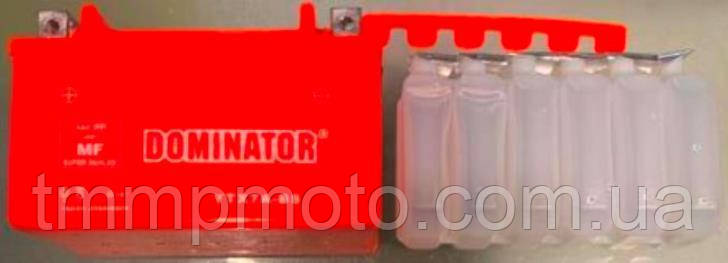 АКБ UTX7А-BC DOMINATOR заливной оранжевый 95x87x150, фото 2