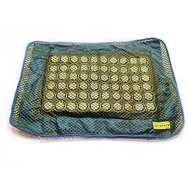 Наволочка на подушку масажна з нефритовими вставками (50х31х1 см)