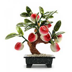 Дерево персик (8 плодів)(20х15х8 см)