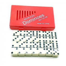 Доміно у червоному кейсі (17,5х10,5х2,5 см)
