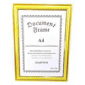 Фоторамка для сертифікатів, грамот, дипломів (34х25х1 див.)