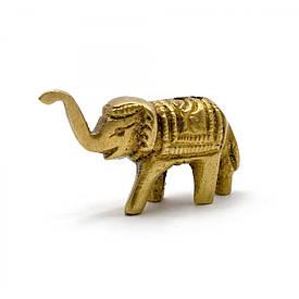 """Підставка під пахощі """"Слон"""" бронза (4х2,5х1,5 см)"""