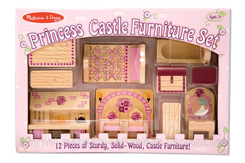 Набор мебели для замка принцессы ТМ Melissa&Doug