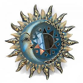 "Дзеркало мозаїчне ""Сонце і Місяць"" (d-20 см)"
