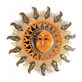 "Дзеркало мозаїчне ""Сонце і Місяць"" (d-50 см)"