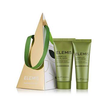Набір відновлює косметики з пребіотиками Elemis Superfood Glow Duo Ornament Skincare Gift Set 30+20 мл