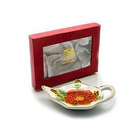 """Підставка під чайні пакетики (11,5 див.)(TBP1115-1) """"Квітка"""""""