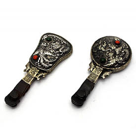 "Дзеркальце з ручкою ""дракон Фенікс"" (17х7х1,5 см)"