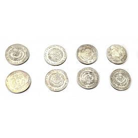 """Колекційні монети """"Дракон"""" (d 3,8 см)(н-р 8 шт)"""