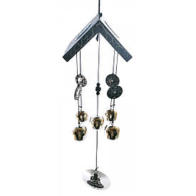 """Музика вітру """"5 дзвіночків з монетами"""" (74х8х9,5 см)(MK0819)"""