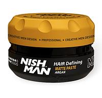 Паста для укладки волос Nishman Matte Hair Defining Paste M1 150 Мл