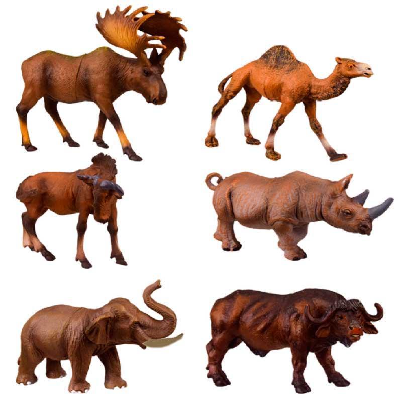 Дикие животные игрушечные Q9899-229