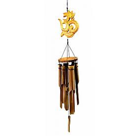 """Музика вітру з бамбука """"ОМ"""" (60х10х10 см)"""