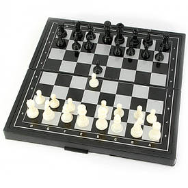 Шахматы, нарды, шашки магнитные (19,5х19х1,5 см)