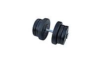Композитна гантель RN-Sport 21,5 кг з грифом хром