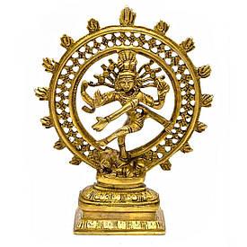 Танцюючий Шива бронзовий (21х16,5х5,5 см)(1 KG)