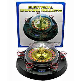 Рулетка электронная с набором рюмок (30х30х14 см)