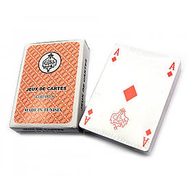 """Карти гральні """"RAMI"""" (9,5х6,5х2 см)(Пластикове покриття)"""
