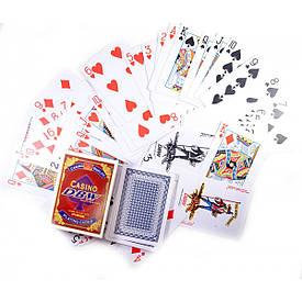 """Карти гральні пластикові """"Casino DBW"""""""