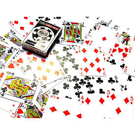 """Карти гральні пластикові """"Poker playing cards"""" (9,5х6,5х1,8 см)"""