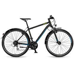 """Велосипед Winora Vatoa 24 men 24 s. Acera 28"""", рама 56 см, чорний матовий, 2020"""