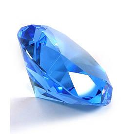 Кришталевий кристал синій (12см)