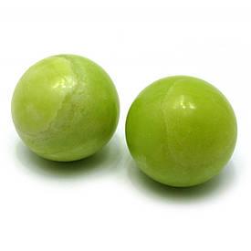 Кулі масажні нефрит у футлярі (d-5 см)