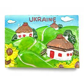 "Магніт ""Україна"" (7х5х1,5 см)(W1002)"