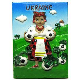 "Магніт ""Україна"" (7х5х1,5 см)(W1007)(24914)"