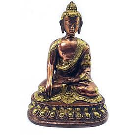 Бронзовий Будда оміднений (16х11х8,5 см)(830 р.)