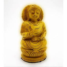 Будда дерев'яний різьблений (10,5х4,5х4 см)