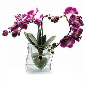 Орхідея в склі (35х21х8,5 см)