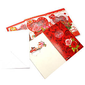 Музична листівка з конвертом (19х13 см)