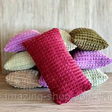 Подушки декоративные. Размер 50х30 см., Разные цвета Малиновый