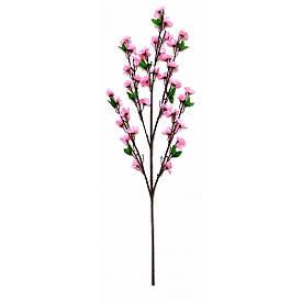 Гілка сакури рожева (90 см)(5шт/уп)
