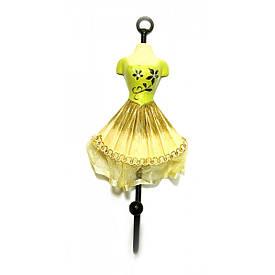 """Вішалка-ключниця для одягу """"Манекен"""" зелений (28х13х13 см)"""