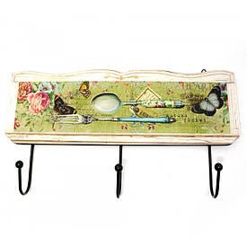 """Вішалка-ключниця для одягу """"Осінній Сонет"""" (30х16,5х4 см)"""