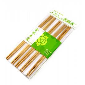 Палички для їжі бамбук (10 пар) (24х12х1 см)