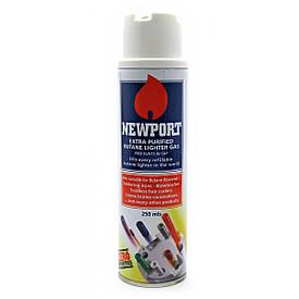 """Газ для запальничок """"NEWPORT"""" (Англія Original 250 мл)"""